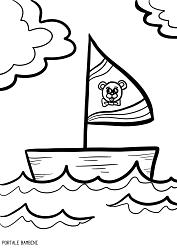 Disegni Di Barche Barchette E Navi Da Colorare Portale Bambini