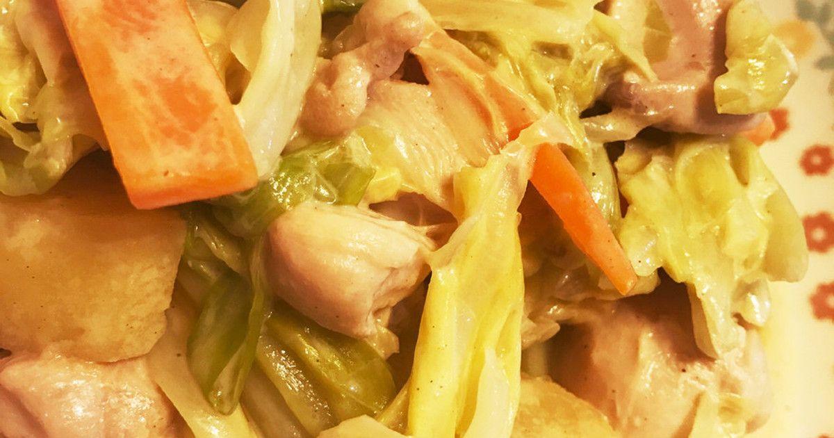 醤油マヨの味付けでこってり美味しく♡キャベツたっぷりなのであっさり食べられます。