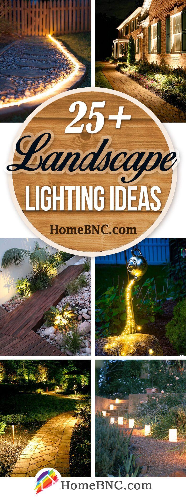 Landscape Lighting Ideas #bestlandscapinglights #landscapelightingdesign