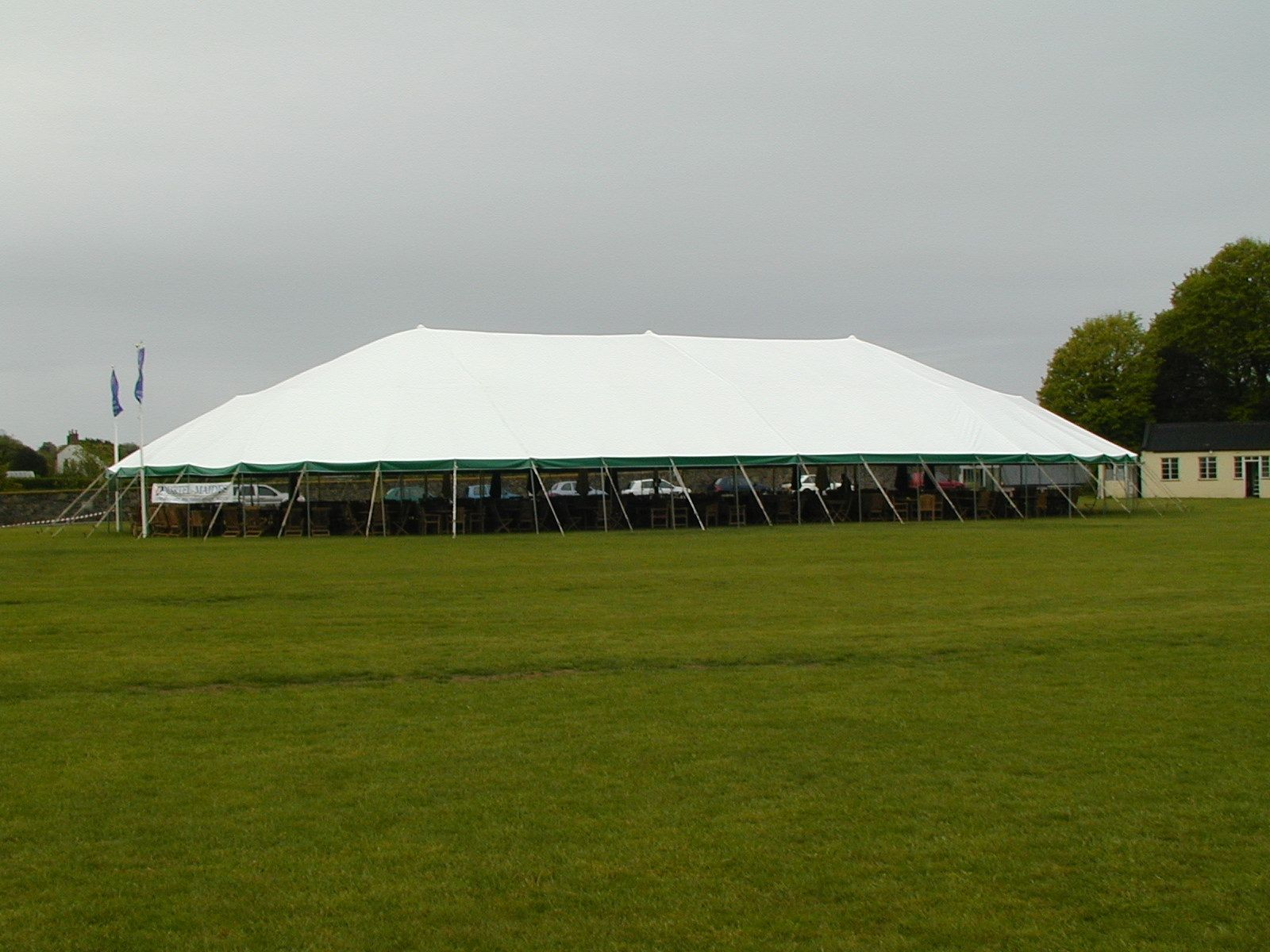 14oz 76u0027 x 136u0027 oval pole tent for church building. & 14oz 76u0027 x 136u0027 oval pole tent for church building. | Tents for ...