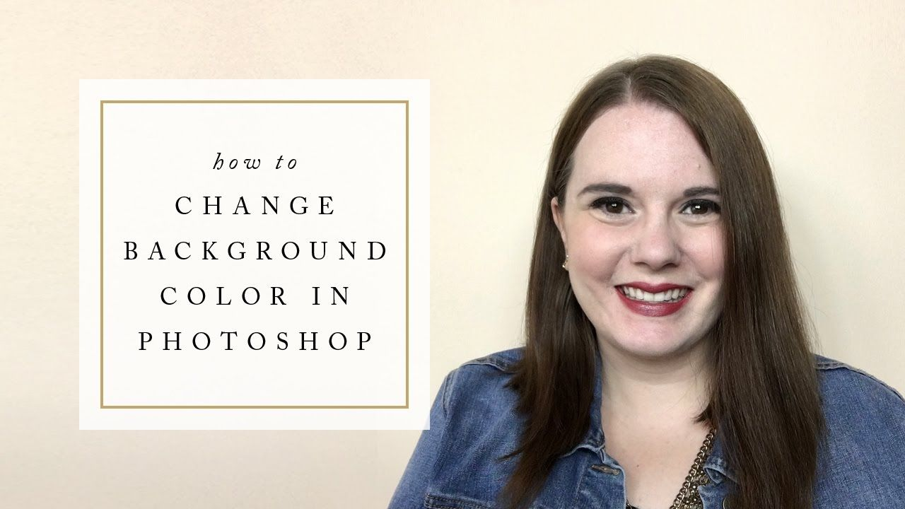 how to change background color in photoshop tutorials