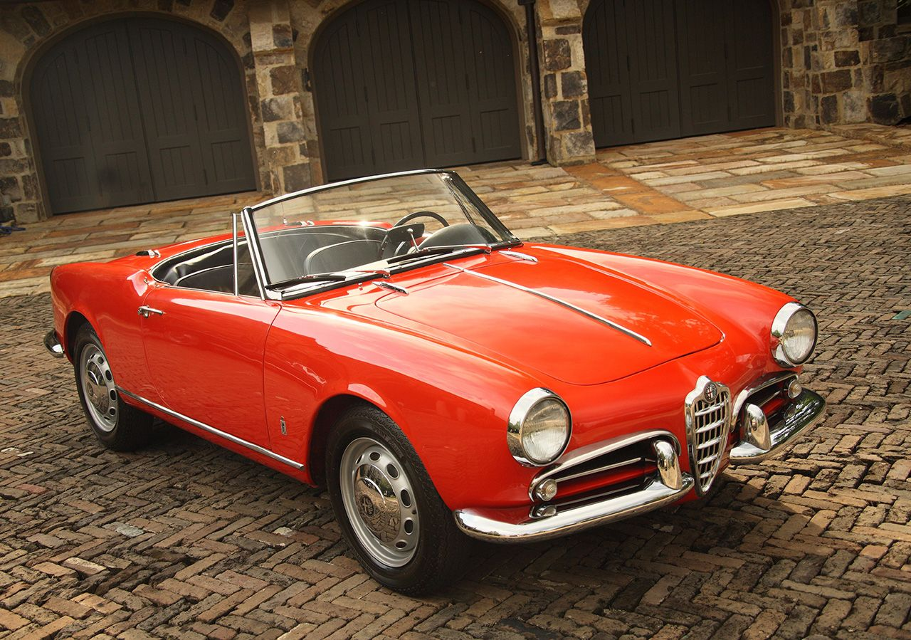 1961 Alfa Romeo Giulietta Spider Con Immagini Alfa Romeo Auto