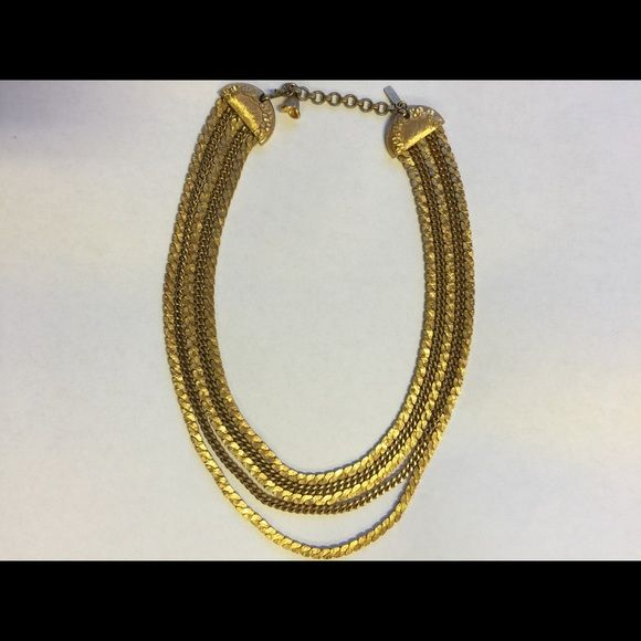 MONET Chain Necklace Monet necklace choker is a lovely Multi gold