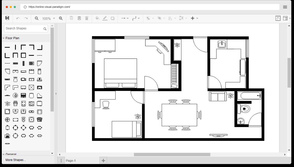Online Floor Plan Designer Free Floor Plans Simple Floor Plans Floor Plan Creator