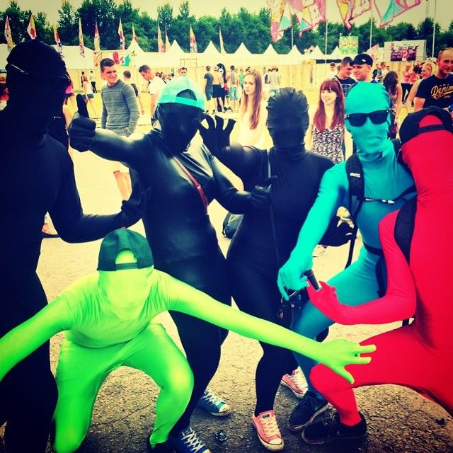 Morphsuit party because why not?