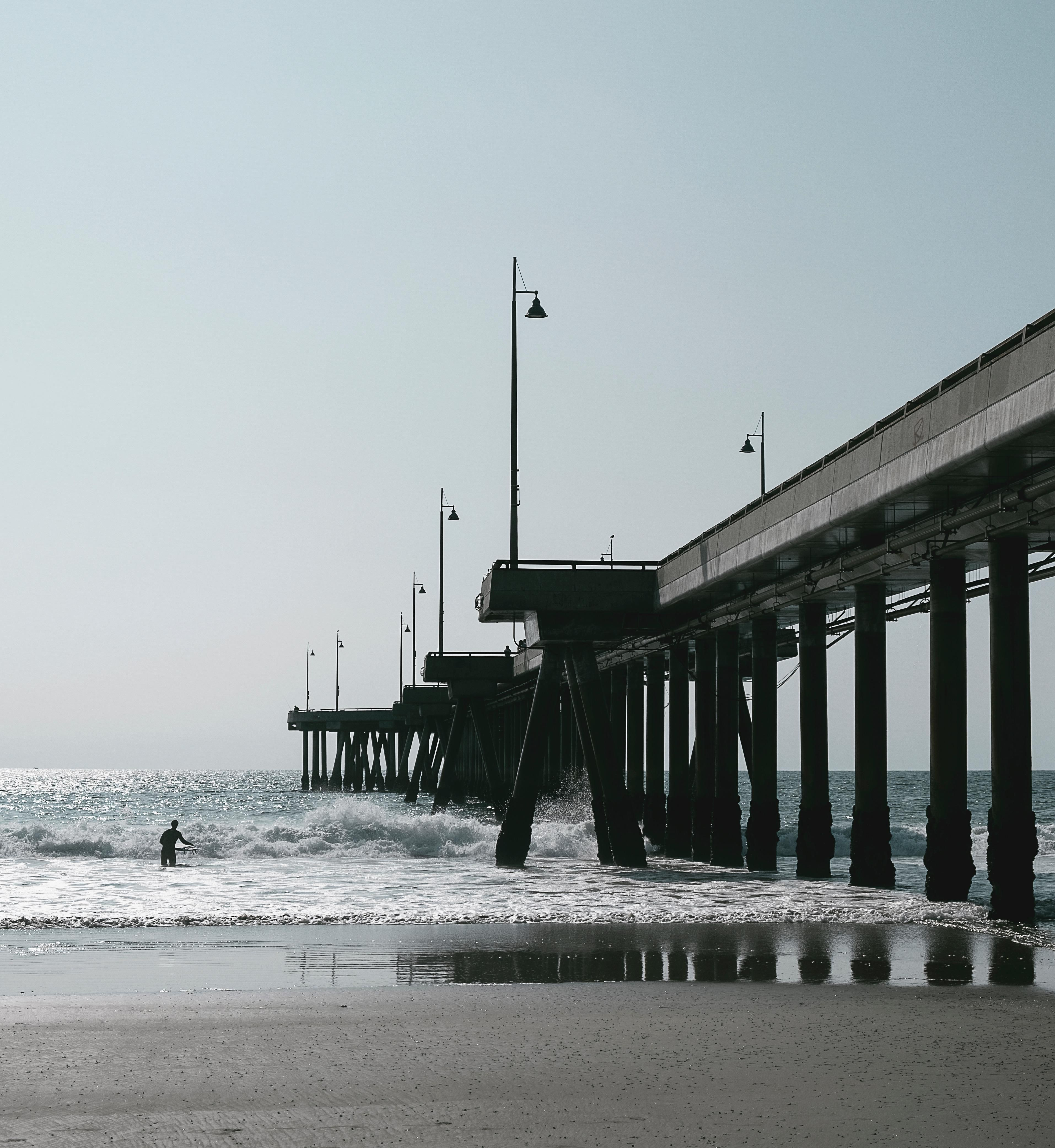 Rockport Tx Visit The New Lighted Fishing Pier At The Beach