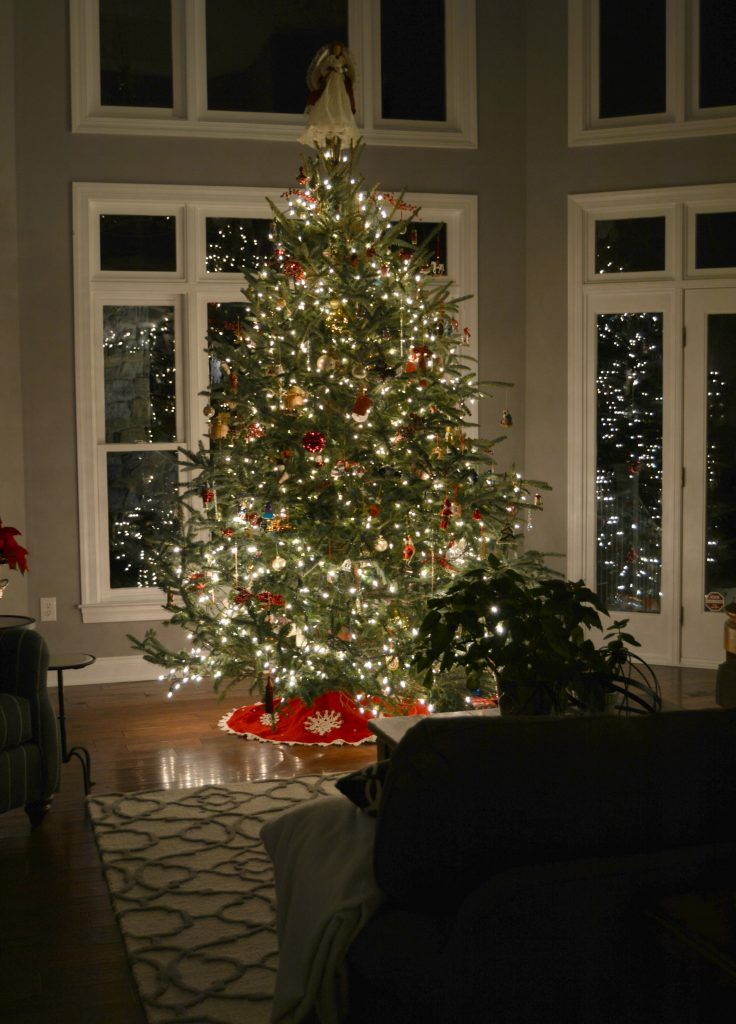 Night Time Christmas Home Tour Stylish Revamp Christmas Home Cozy Home Decorating House Decor Rustic