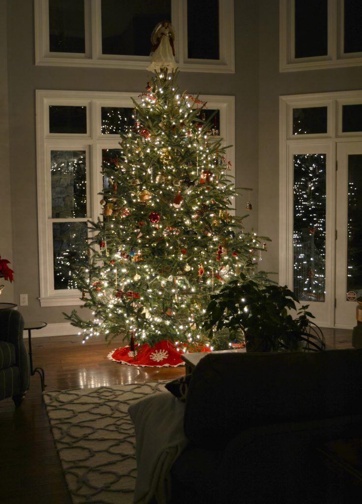 Night Time Christmas Home Tour Stylish Revamp Christmas Home Cozy Home Decorating House Decor Rustic