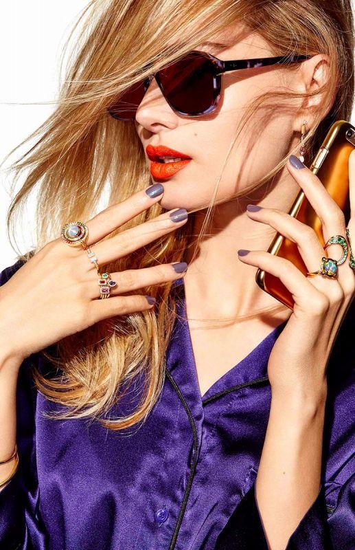 Fashion Accessories I fashion photography I Arthur Belebau I accessories editorial I purple turtoise sunglasses I statement rings @monstylepin