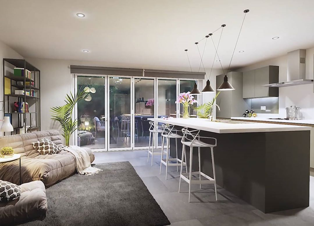 #newhomes #newbuild #instadecor #showhomes # #decor #design #interior #lights kitchen #sink #kitchenspace...