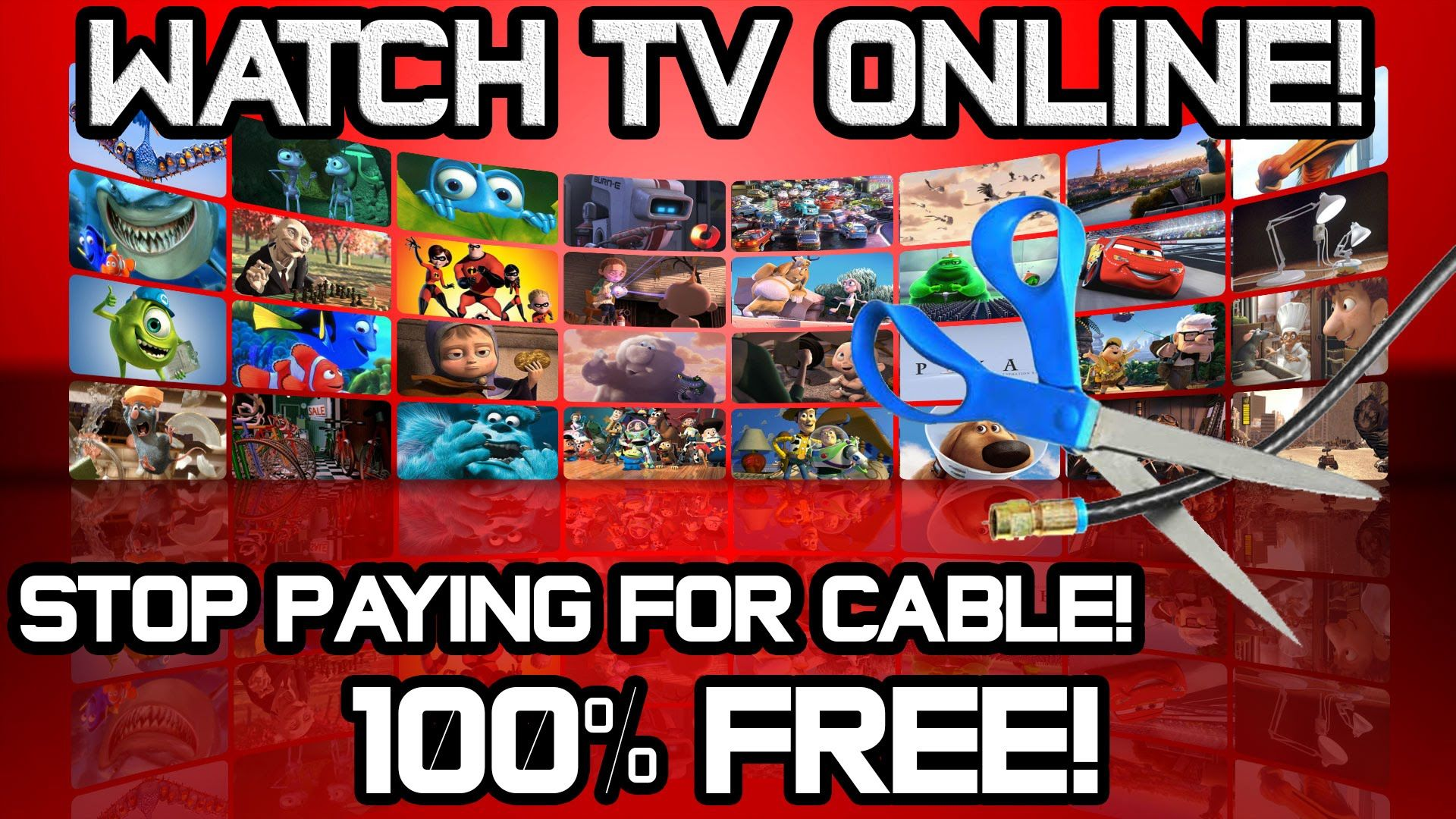 Watch TV Online for Free! no need to pay for cable
