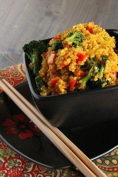 Curried quinoa recipe quinoa dishes curried quinoa quinoa dishesindian foodsfood cravingsvegan recipesdinner forumfinder Images