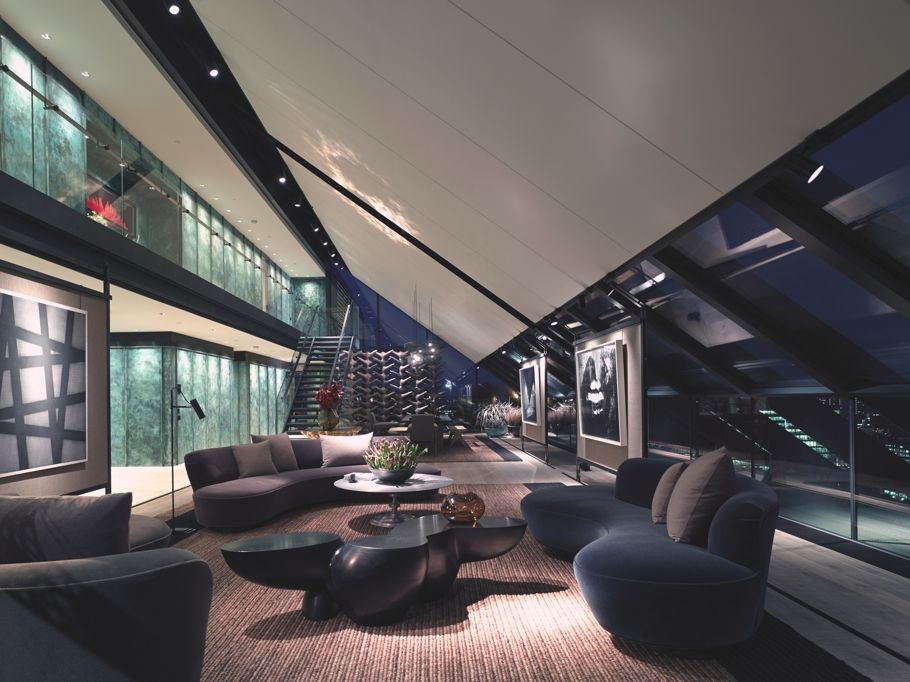luxury london penthouse neo bankside with panaromic views across rh pinterest com