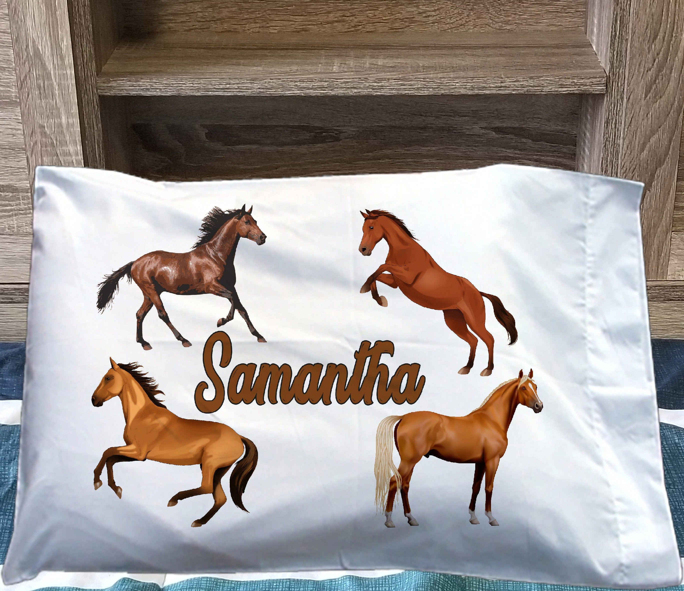 personalized kids pillowcase girls