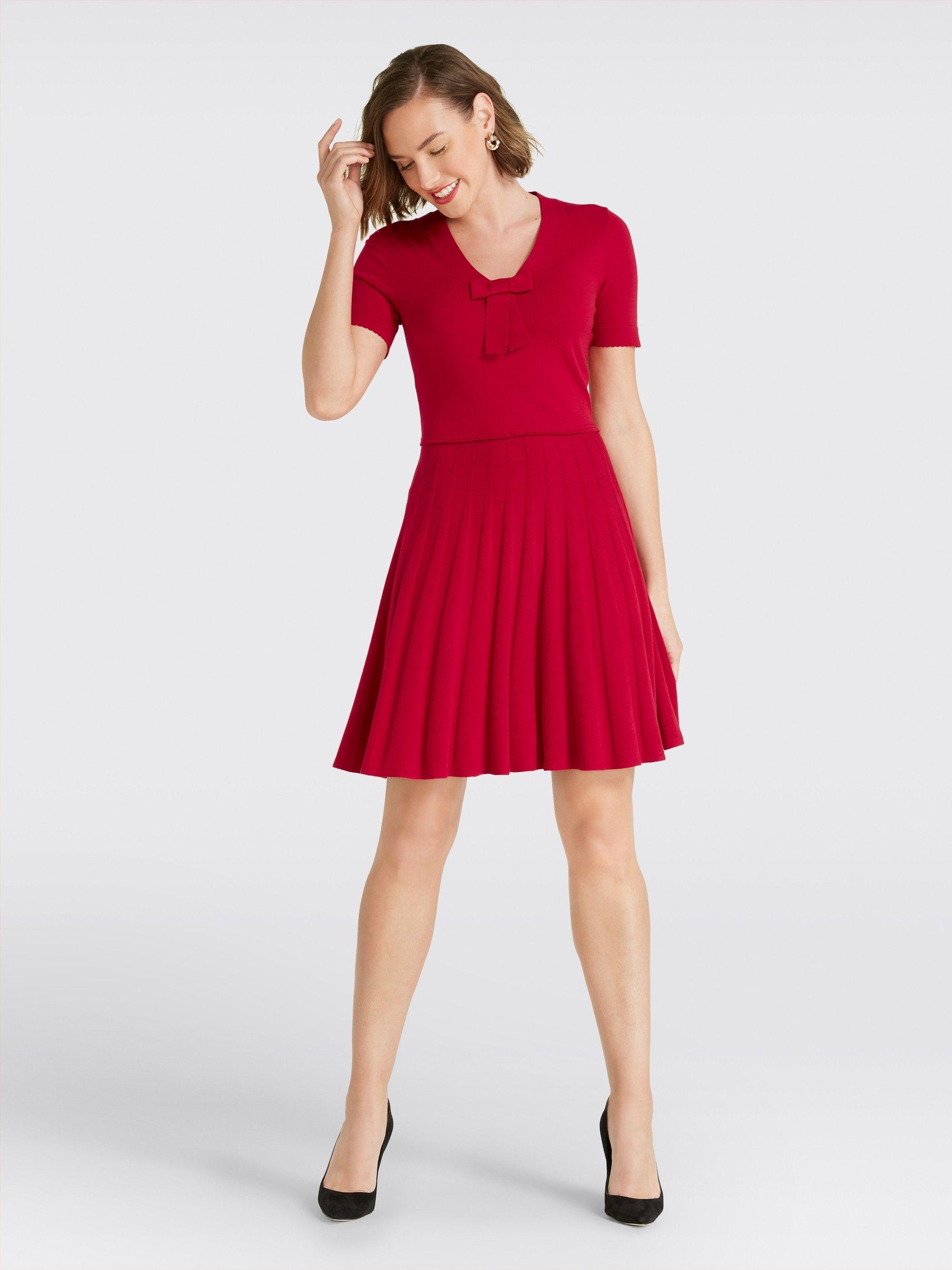 fa889aea039 Draper James - Bow Knit Dress