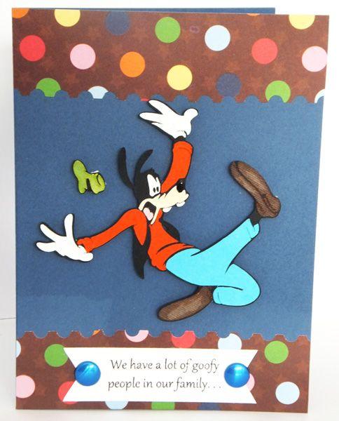 Paper Panacea A Goofy Birthday Card Birthday Wishes Cards Birthday Cards Cards
