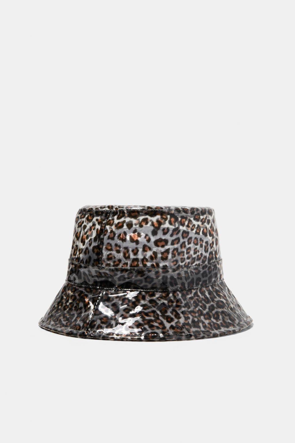 Animal Print Rain Hat Extravagante Hute Hut Susse Hute
