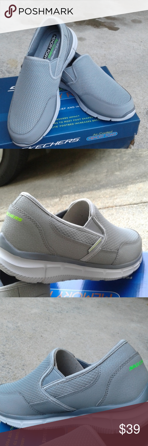 New Schecher Air Cooled Memory Foam Nwt Skechers Slip On