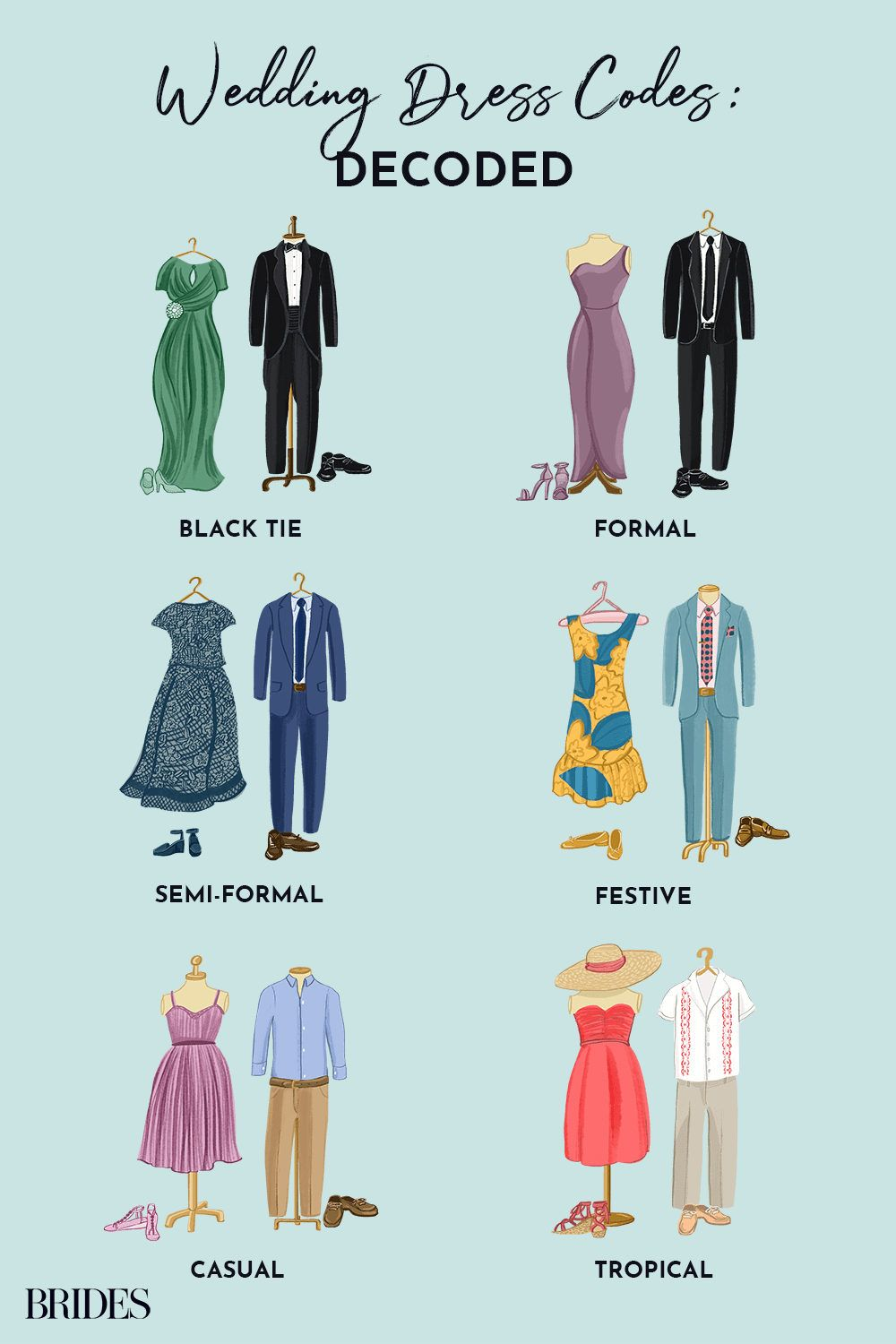 From Black Tie to Casual: Wedding Guest Dress Code Explained