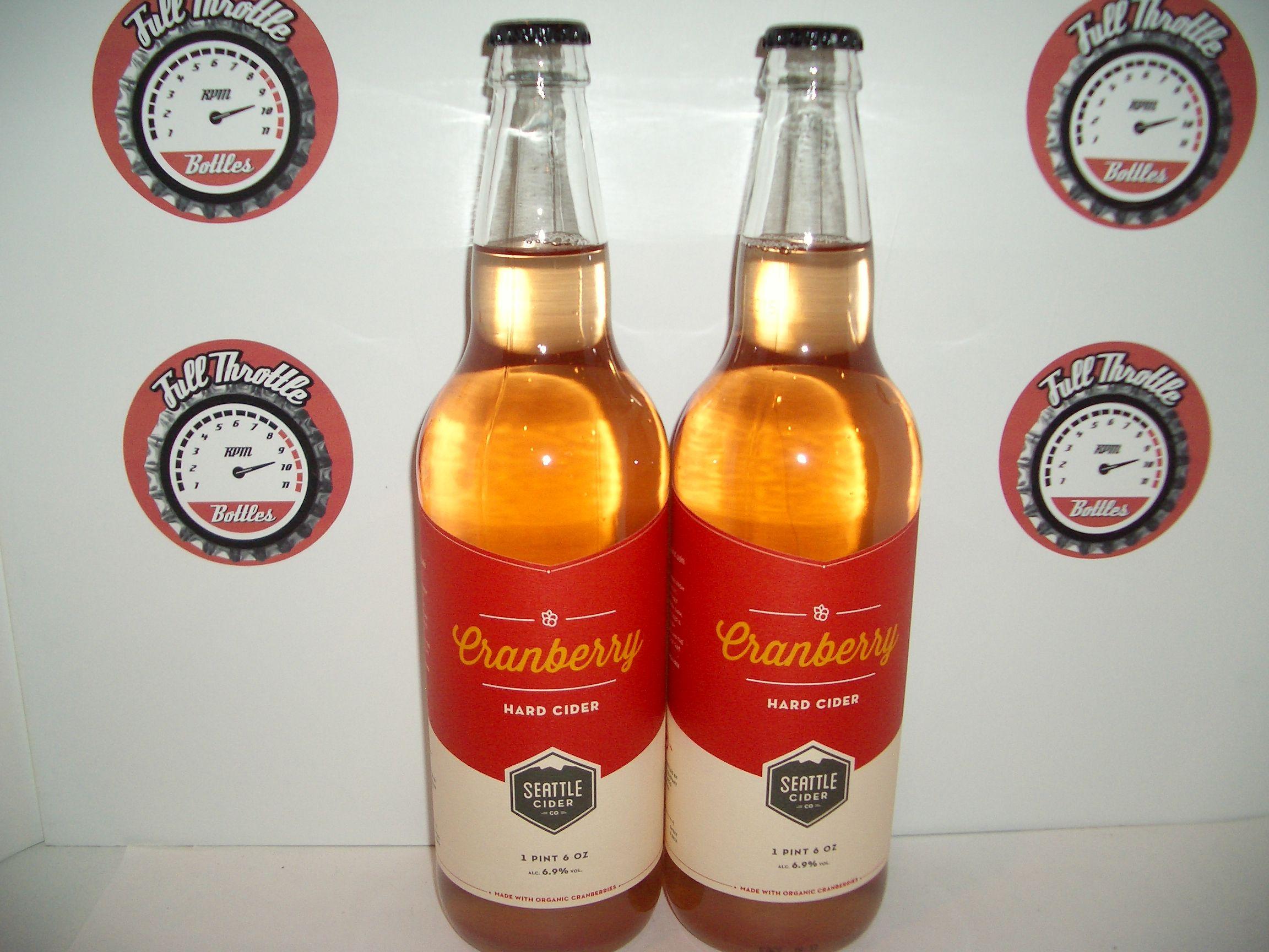 Seattle Cider Cranberry Corona Beer Bottle Beer Bottle Corona Beer