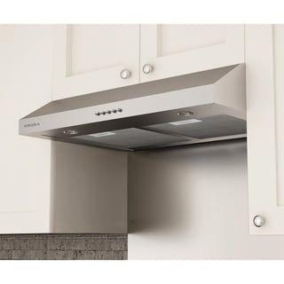 Beau Ancona Slim Plus 30 In. Under Cabinet Range Hood In Stainless Steel |  Overstock.com Shopping   The Best Deals On Range Hoods