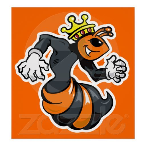 Koning Bij #Koningsdag Poster #koninginnedag #oranje