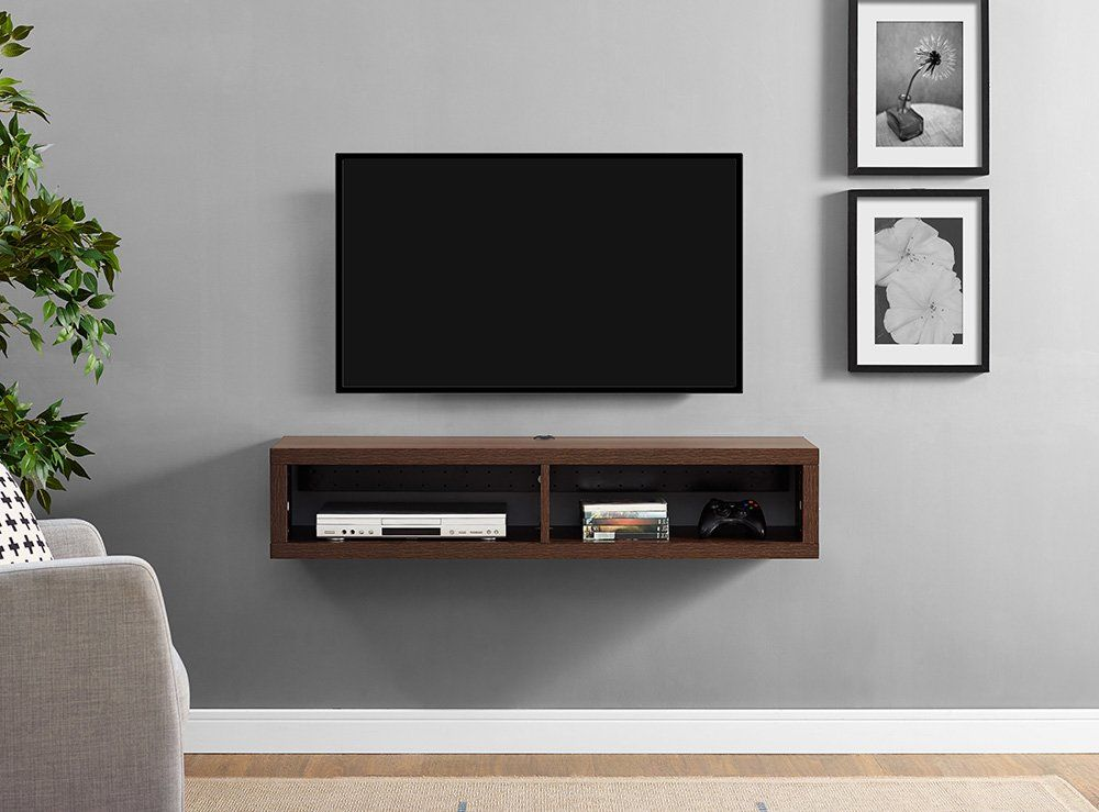 Shallow 48 Wall Mounted Tv Stand With