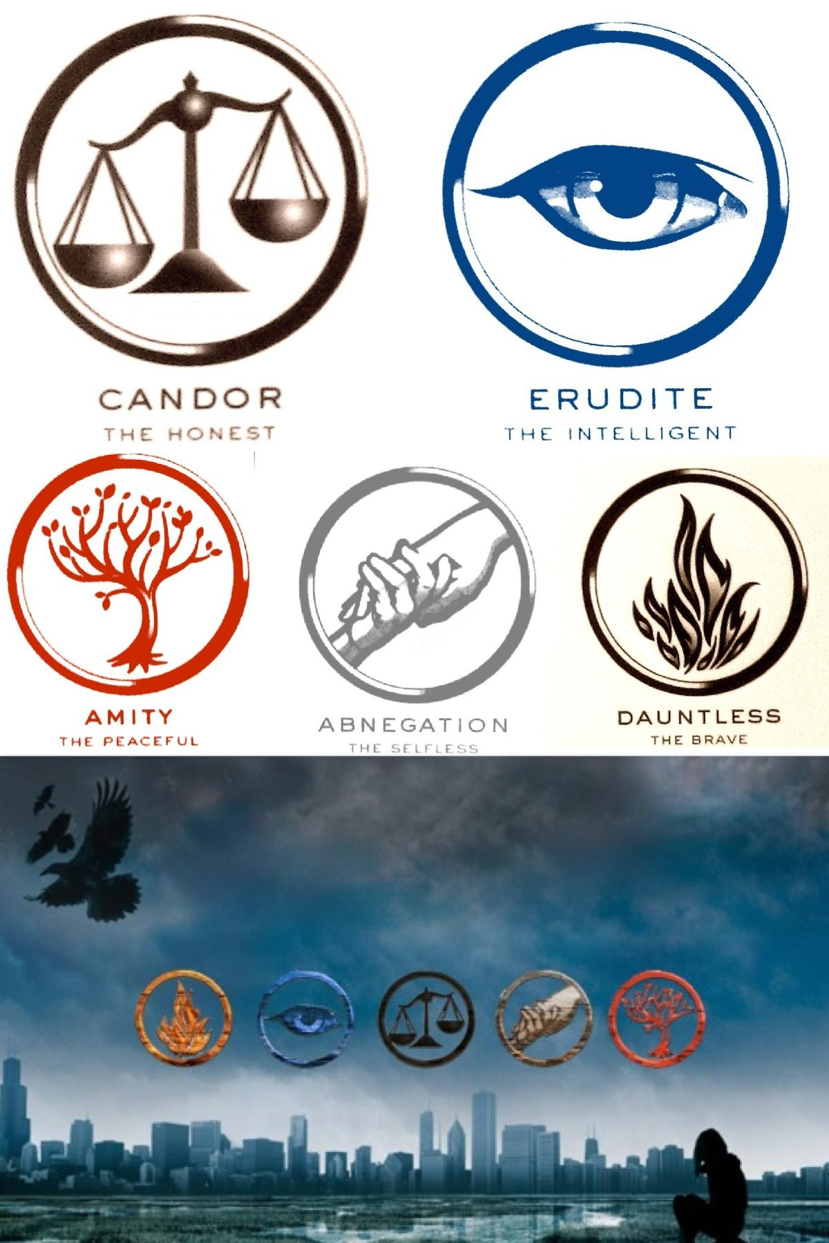 divergent symbols and meanings - HD1200×1800