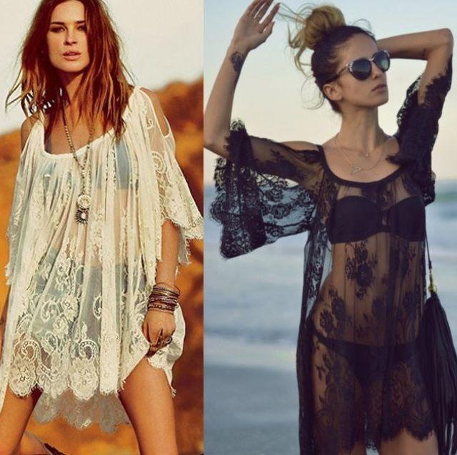 Vestidos de praia baratos