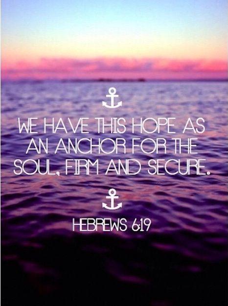18 Beautiful Bible Verses. Anchor TattoosHope ...