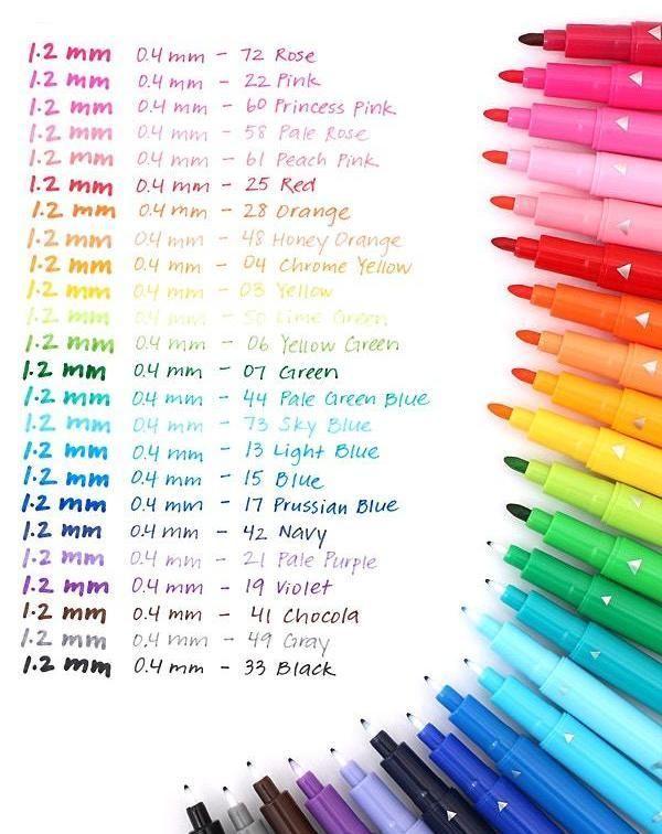 Style Princess 10 Colours Felt Tip Pens