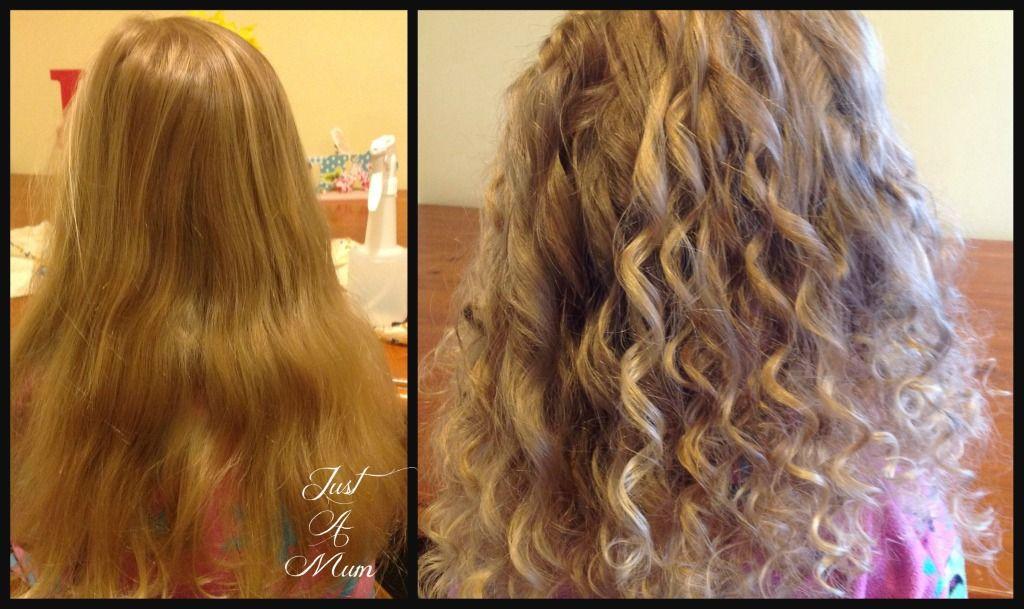 SPIRAL rag curls!