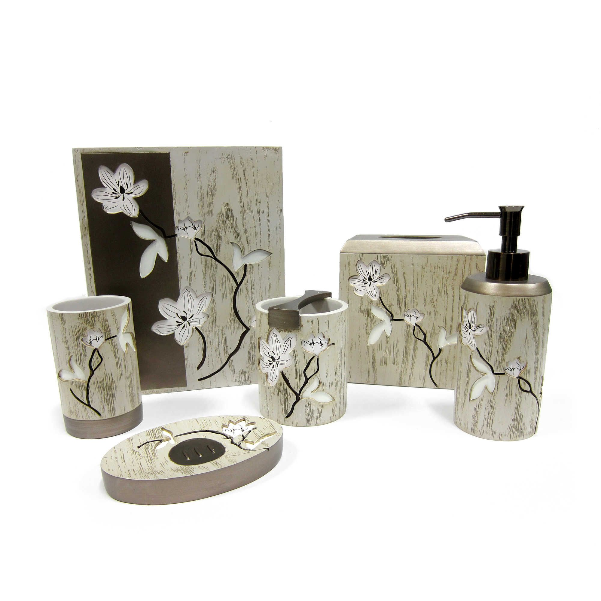 Croscill® Magnolia Floral Bath Ensemble | Products, Love and Magnolias