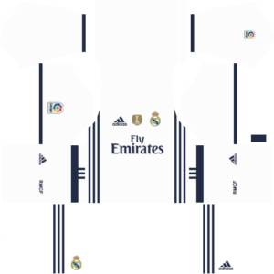 Dream League Soccer Real Madrid Kits 2016 2017 Url 512x512 Camisa Real Madrid Esportes