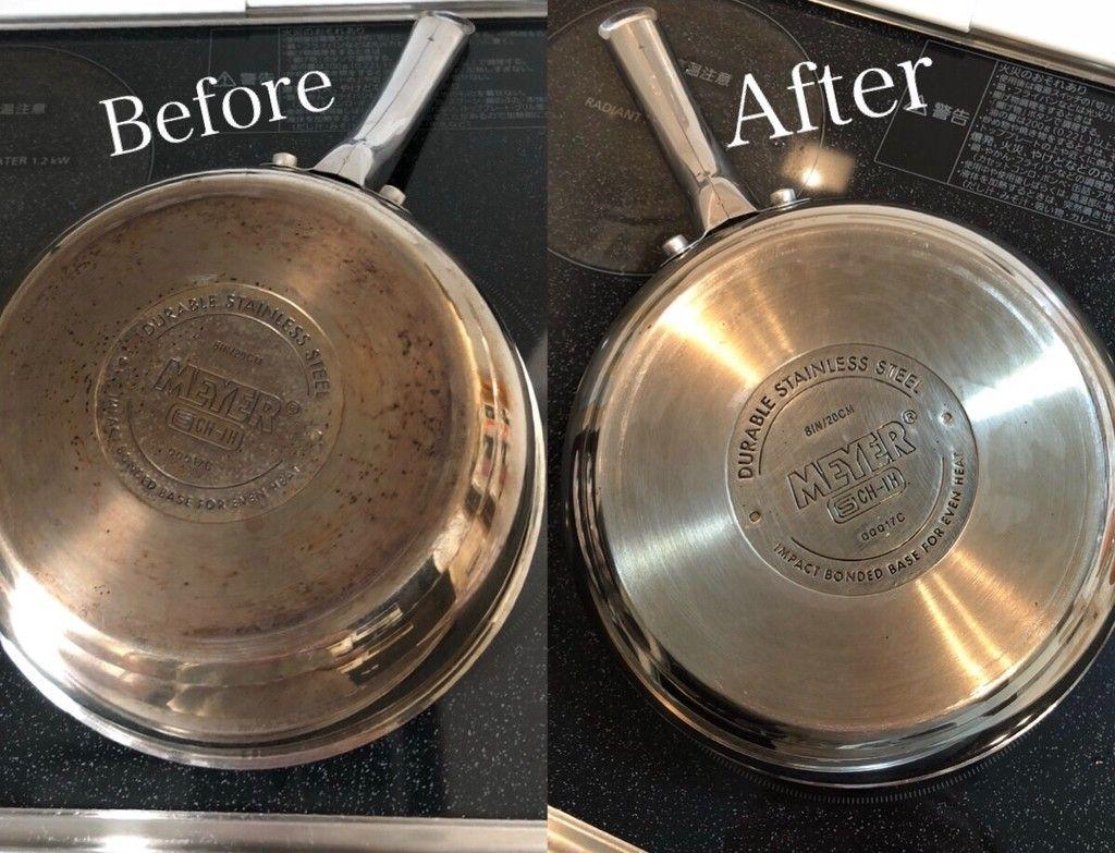 落とし フライパン 焦げ フライパンや鍋の焦げの落とし方!気持ち良くらい焦げを取り除く方法
