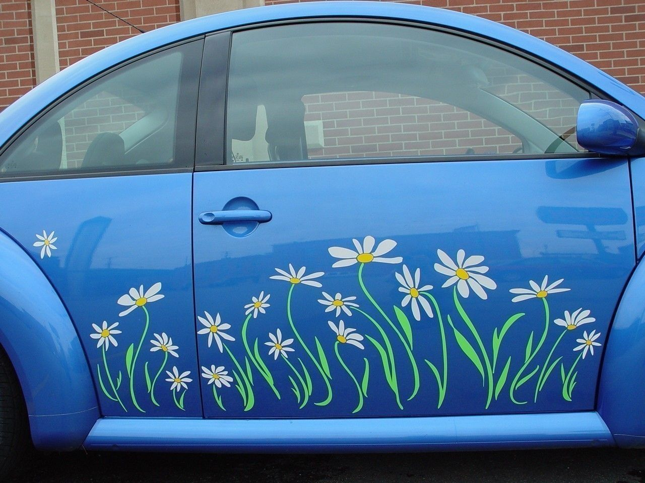 Daisy decal vinyl sticker graphics beetle side panel for 2011 and older models 125 00 via etsy
