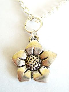 Silver Plated Flower