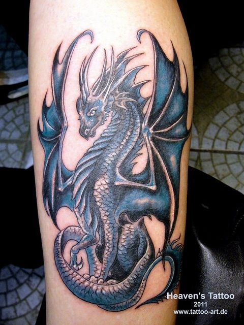 50 Amazing Dragon Tattoos You Should Check Out Blue Dragon Tattoo Small Dragon Tattoos Dragon Tattoos For Men