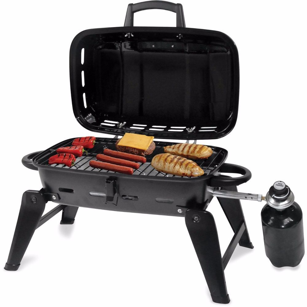 Outdoor Cooking Portable Gas Grill Bbq Camping Propane Barbecue