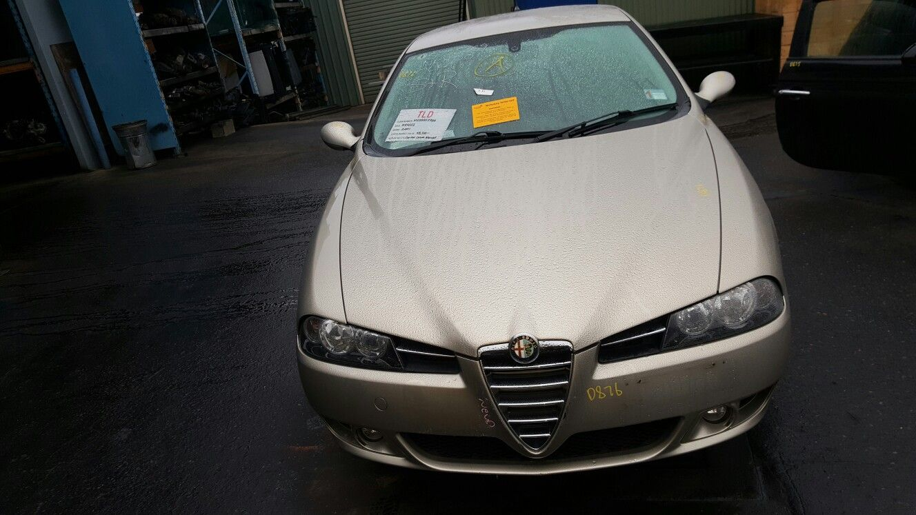 alfa romeo 156 jts 5 speed manual 98 06 cars wrecking rh pinterest com Alfa Romeo 159 Alfa Romeo 166