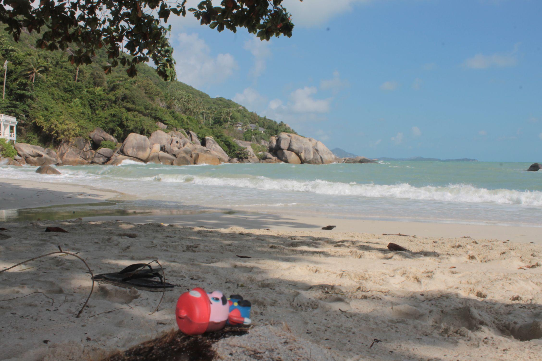 Mario en Lamai Beach, Koh Samui