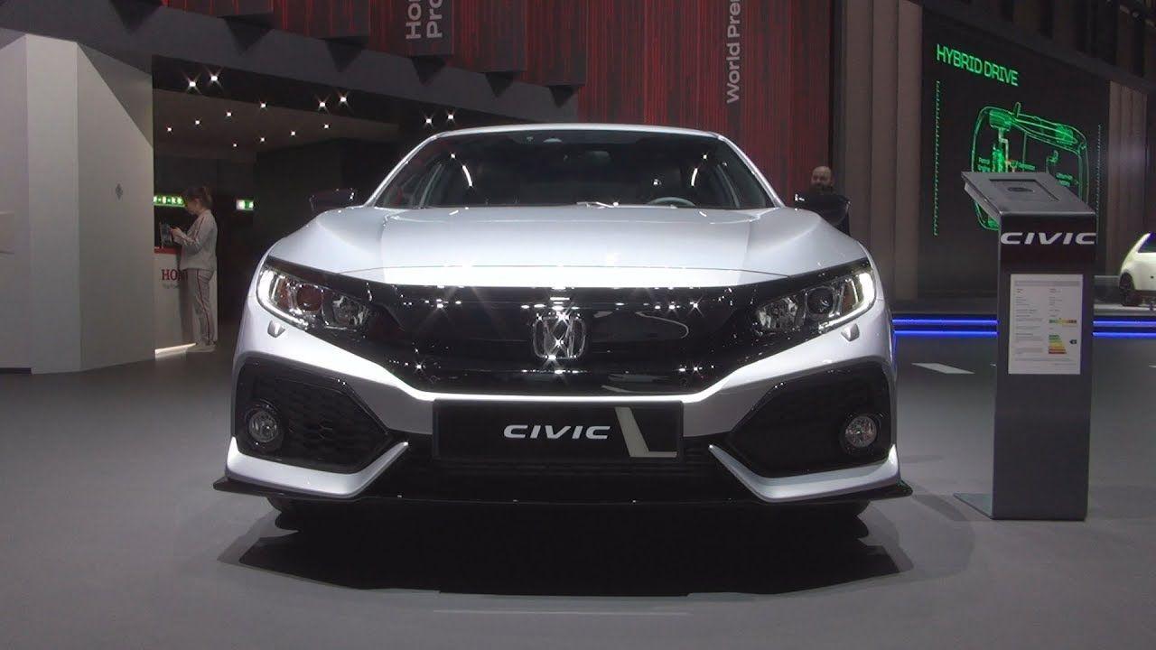 Honda Civic 1.0i VTEC Sport Line (2019) Exterior and