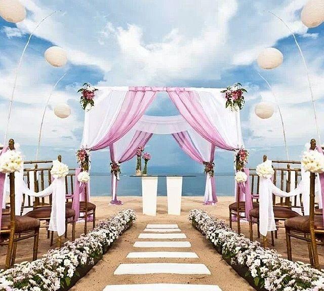 Jamaica Beach Wedding Ceremony