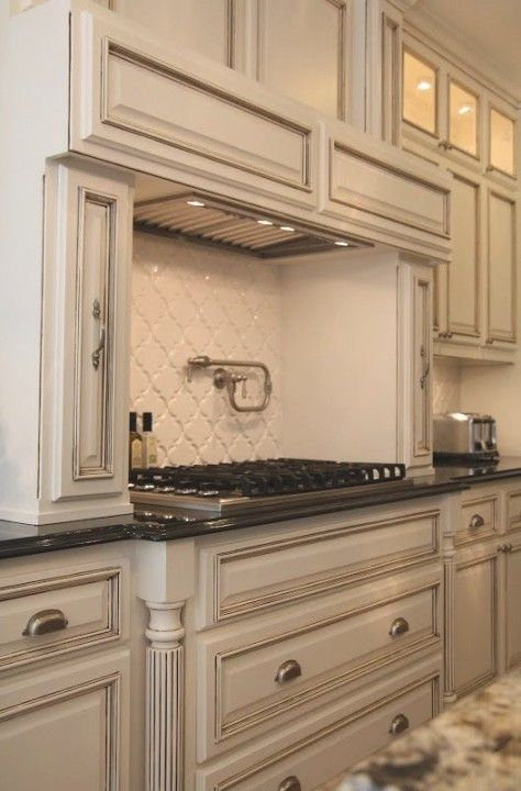 Best 25 White Glazed Cabinets Ideas On Pinterest Kitchen With