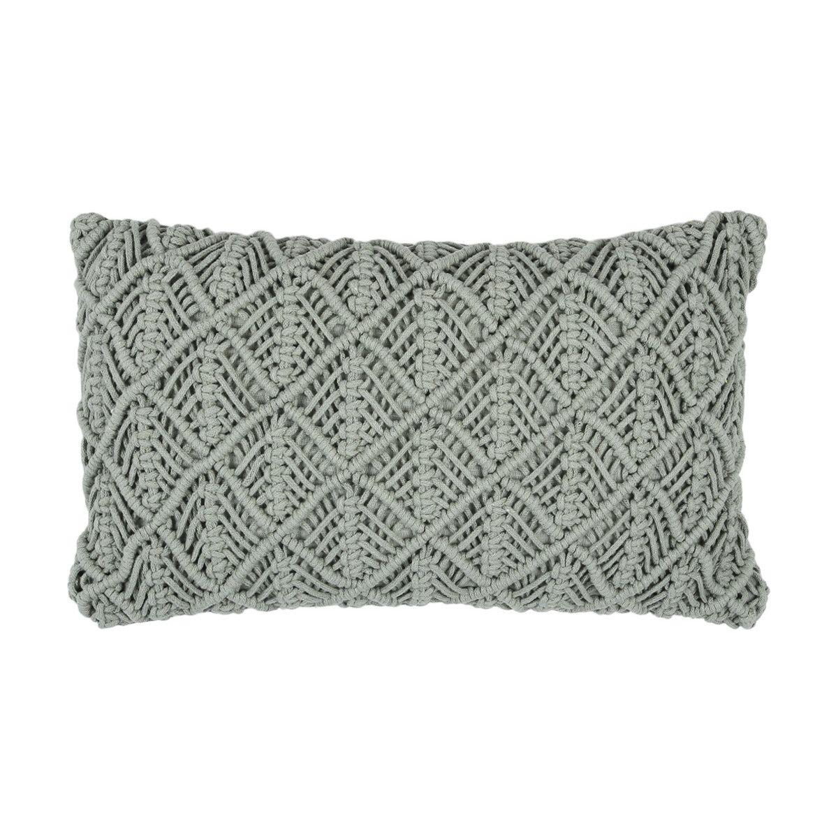 Willow Cushion Green Kmart Boho cushions, Cushions