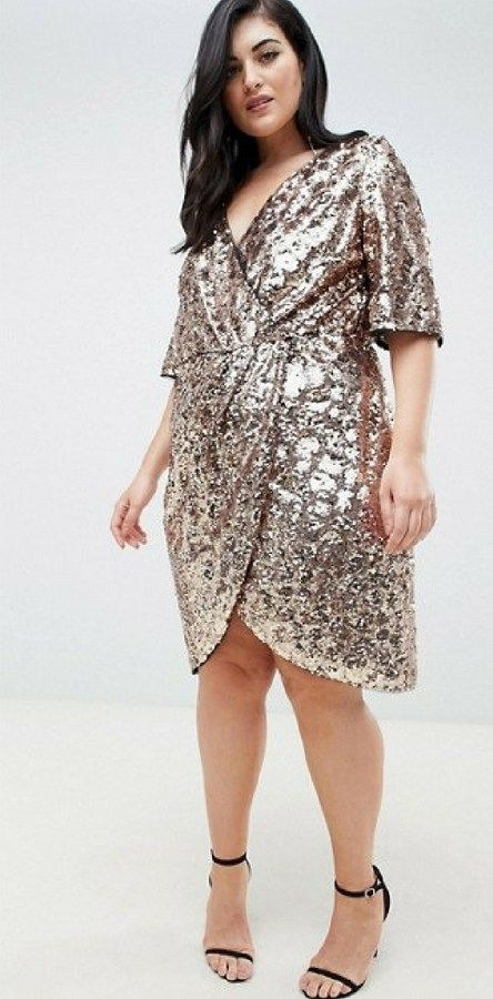 79be2b7d64f8d 24 Plus Size Sequin Dresses - Plus Size Holiday Party Dress - Plus Size  Fashion for Women - alexawebb.com  plussize  alexawebb