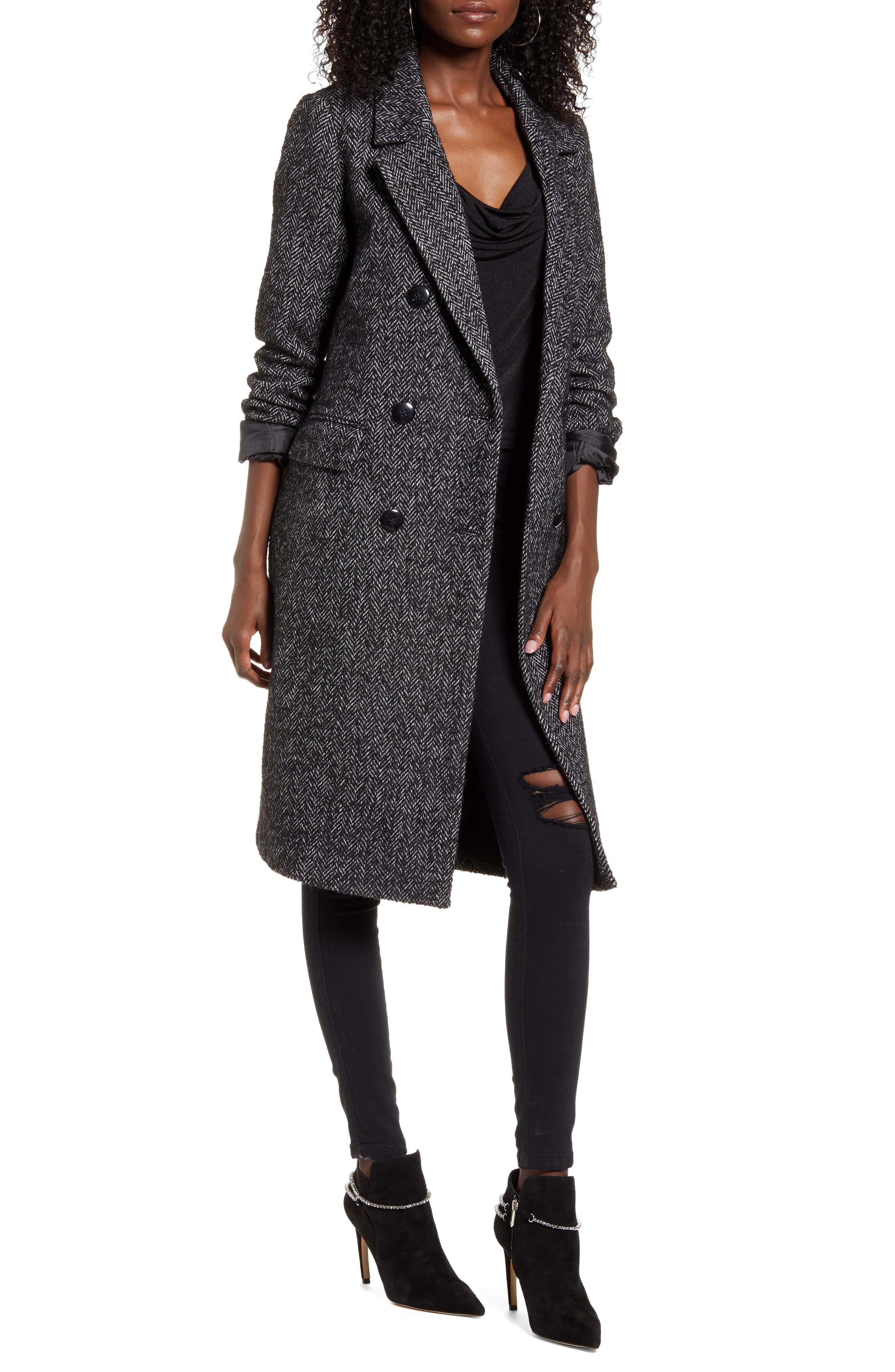 VERO MODA Highland Herringbone Coat available at