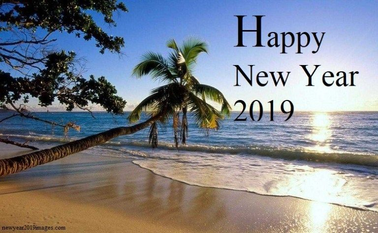 738fab8653 Happy New Year Beach Images 2019 | Paint colors | Beach images ...