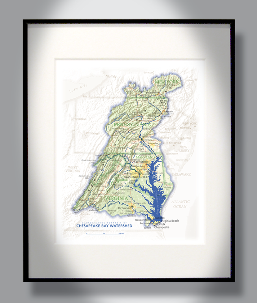 small resolution of chesapeake bay watershed chesapeake bay vintage maps cartography map art charts