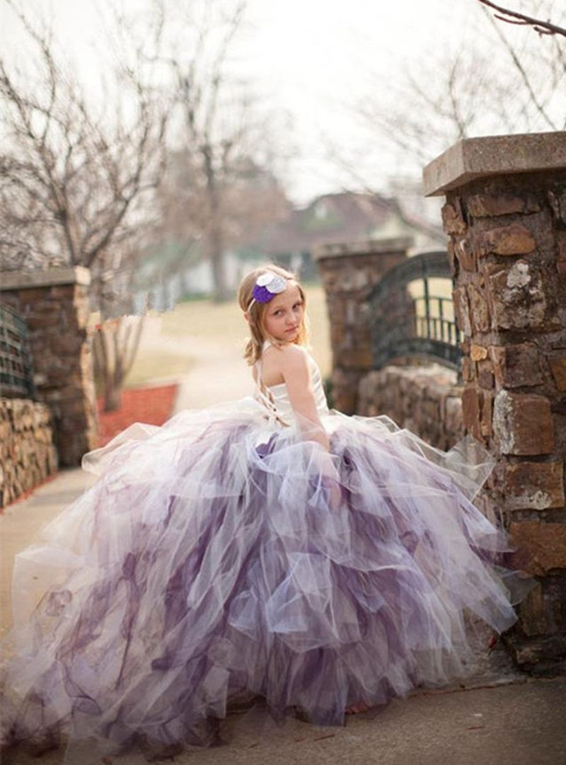 84b36d82e New Arrival Super fluffy 3 layer girls pageant dresses Mix color ...